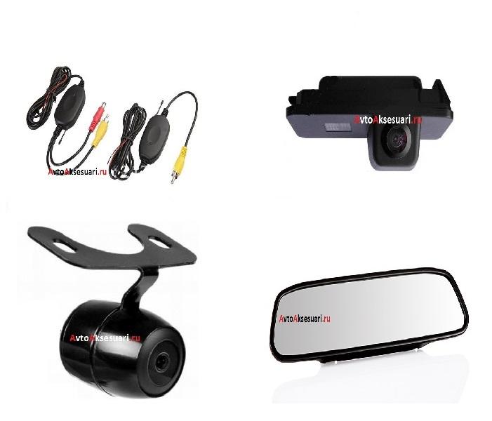 Камера заднего вида, авто монитор, беспроводной блок